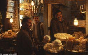 iran_tabriz_bazar_lait_fromage_miel