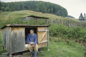 Roumanie, Gabriel, aide berger, sa chambre