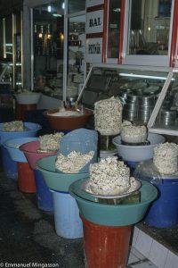 Fromages, Van Otlu peynir dans le bazar de Van